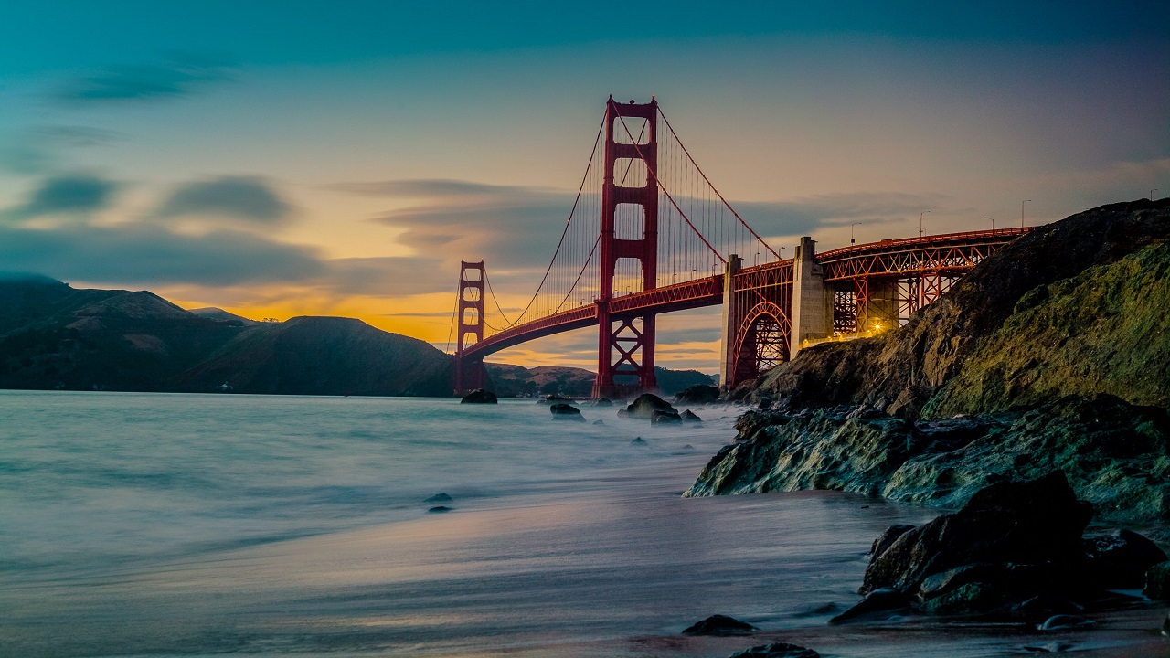 Photo of the city of San Francisco brige